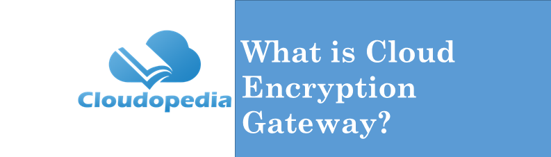Definition of Cloud Encryption Gateway