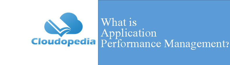 Definition of Application Performance Management