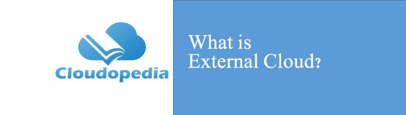 Definition of External Cloud