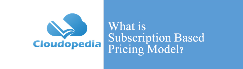 Definition of Subscription Based Pricing Model