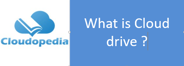 Definition of Cloud drive