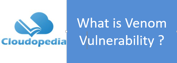 Definition of Venom vulnerability